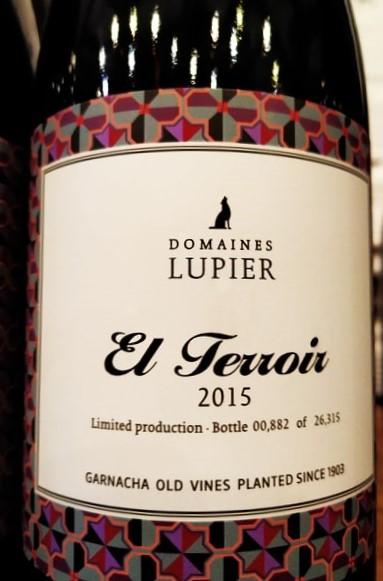 Domaines Lupier El Terroir 2015