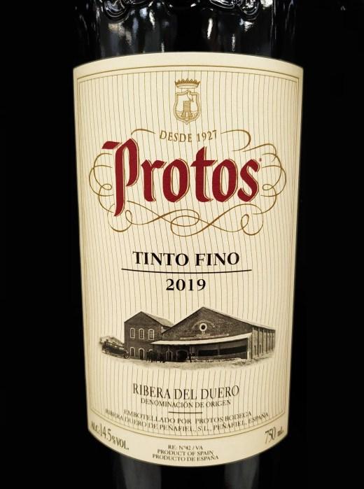 Protos Tinto Fino 2019
