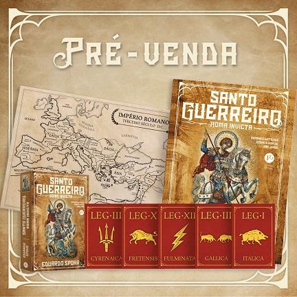 Pré-venda Santo Roma Invicta de Eduardo Spohr