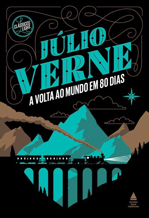 ao Mundo em 80 Dias - Júlio Verne [CAPA]