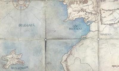 Mapa - O Senhor dos Anéis [DESTAQUE]