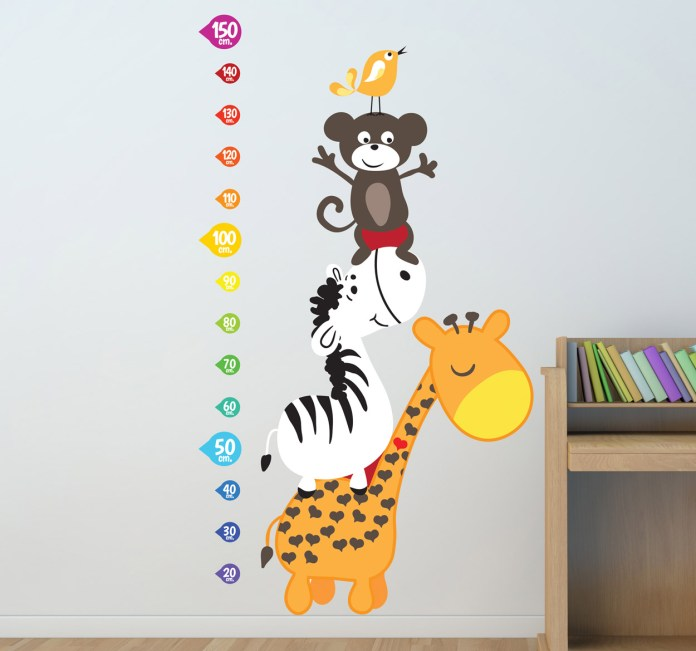 vinilo-infantil-medidor-castillo-animal-5443