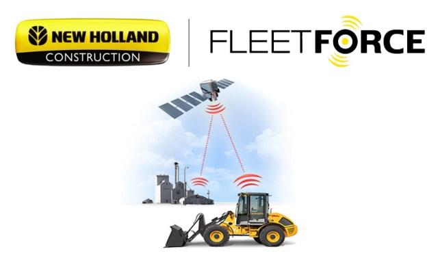 Sistema de Telemetría FleetForce New Holland