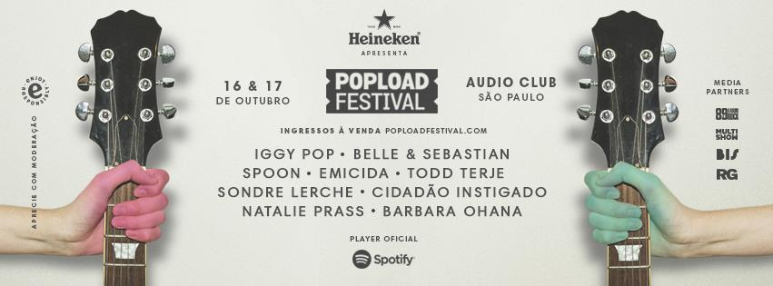Resultado de imagem para popload festival 2015