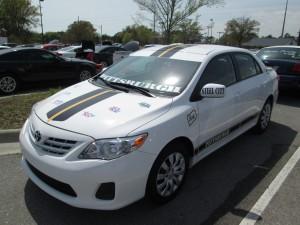 Custom Car Steelers Fan