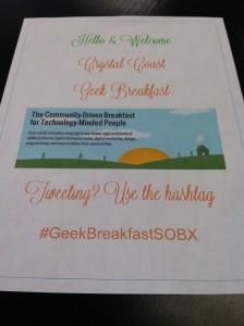 GeekBreakfastSOBX