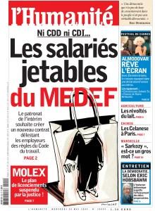 Les salariés jetables du MEDEF