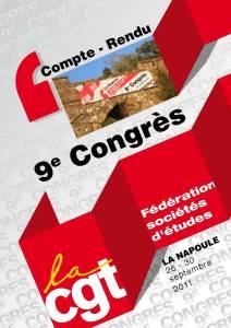 Compte Rendu 9ème Congrès – La Napoule – 29 septembre 2011