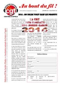 Au bout du fil n°24 : 2014 : On solde tout sauf les profits