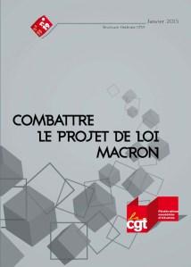 Brochure Fédérale n°19  – Janvier 2015 – Combattre le projet de loi Macron