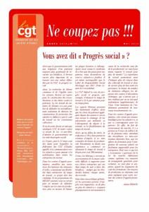 Ne Coupez Pas n°31 : Vous avez dit « Progrès social » ?