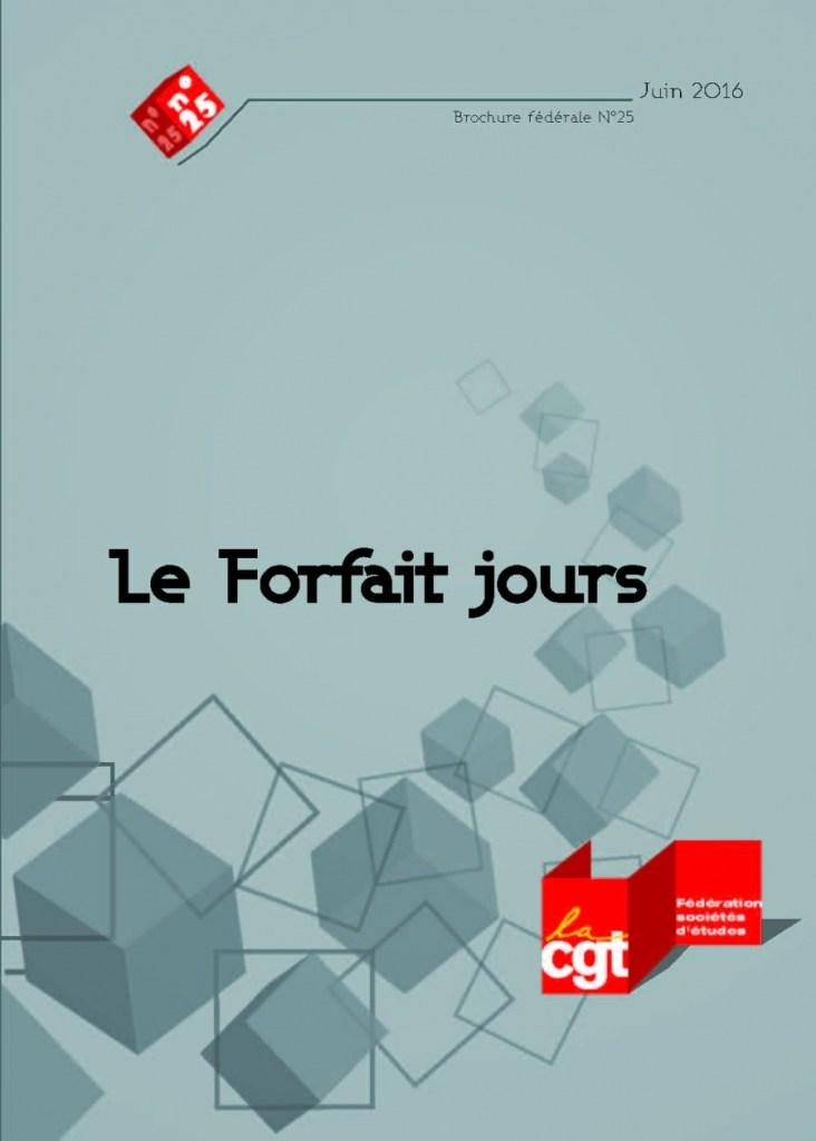 Brochure Fédérale n°25 : Le forfait jours