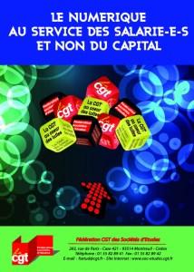 Brochure Fédérale NUM1 – Le numérique au service des salarié-e-s et non du Capital