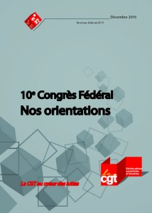 Brochure Fédérale n°27 : 10e congrès fédéral nos orientations