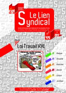 Le lien syndical n°476 – Eté 2017