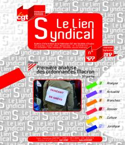 Le lien syndical n°477 – septembre 2017