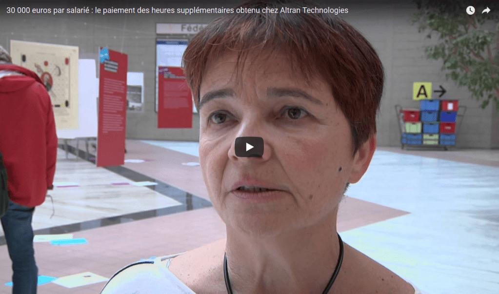 ALTRAN : Grâce à la CGT, Altran devra verser 10 millions d'euros à 300 salariés !