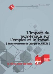 Brochure Fédérale n°29 : L'impact du numérique sur l'emploi et le travail