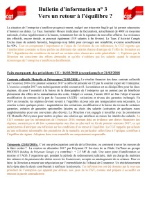POLYMONT IT SERVICES : Bulletin d'information n°03