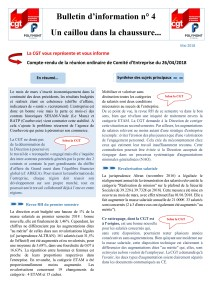 POLYMONT IT SERVICES : Bulletin d'information n°04
