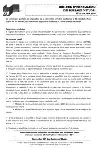 Bulletin d'information des bureaux d'études n°132