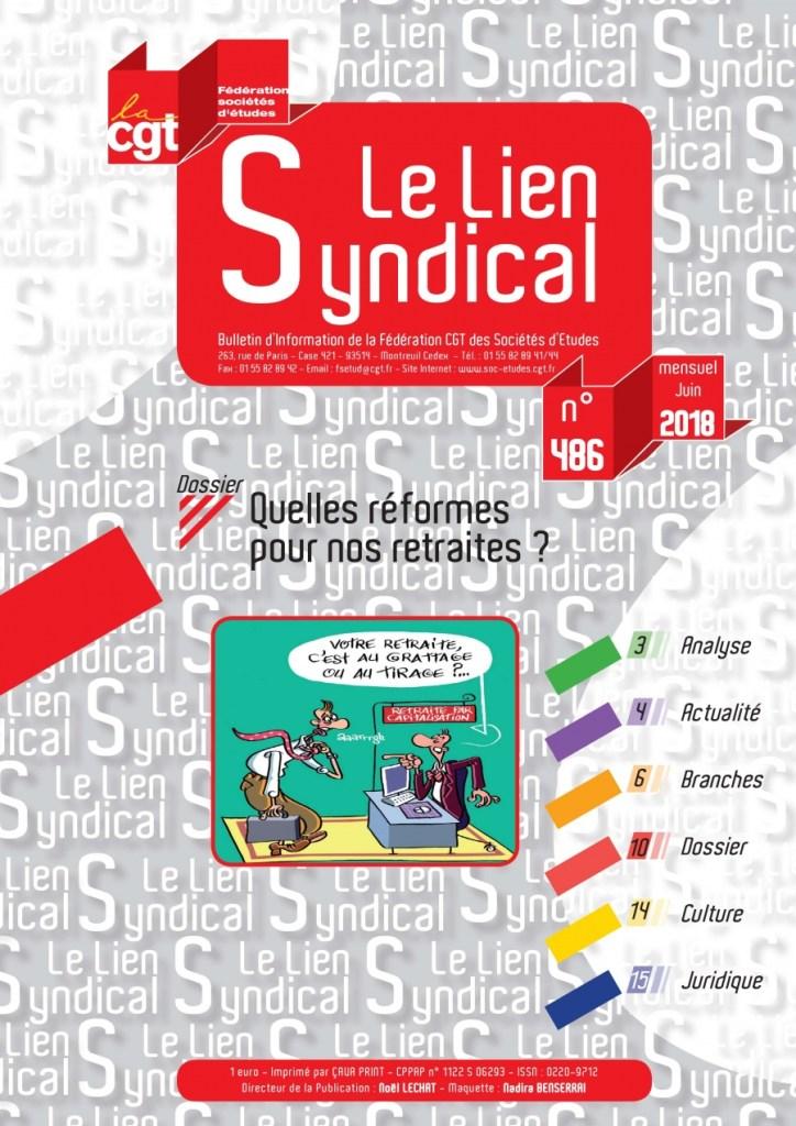 Le lien syndical n°486 – Juin 2018