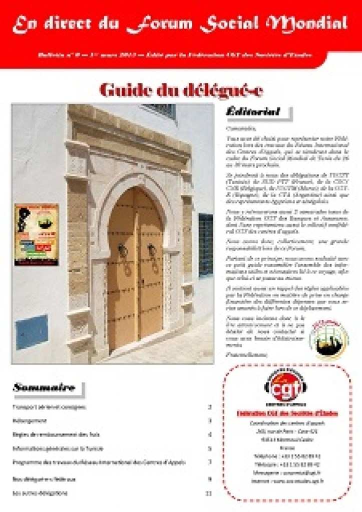 En direct du FSM n°0 : Guide du délégué