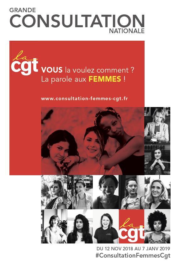 Lancement d'une grande consultation nationale : « Femmes, la CGT, vous la voulez comment ? »