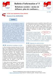 POLYMONT IT SERVICES : Bulletin d'information n°05
