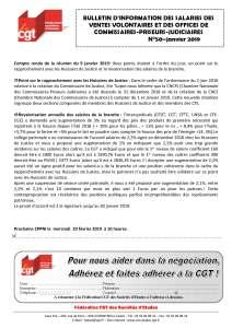 Bulletin d'information des salariés des commissaires-priseurs n°50