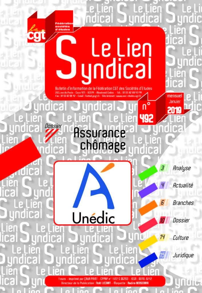 Le lien syndical n°492 – Janvier 2019