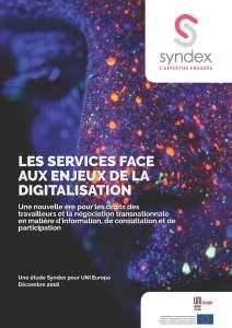 Les services face aux enjeux de la digitalisation