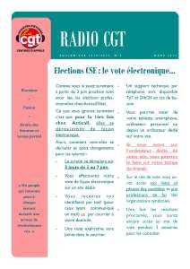 ACTICALL : Radio CGT n°4 – Avril 2019