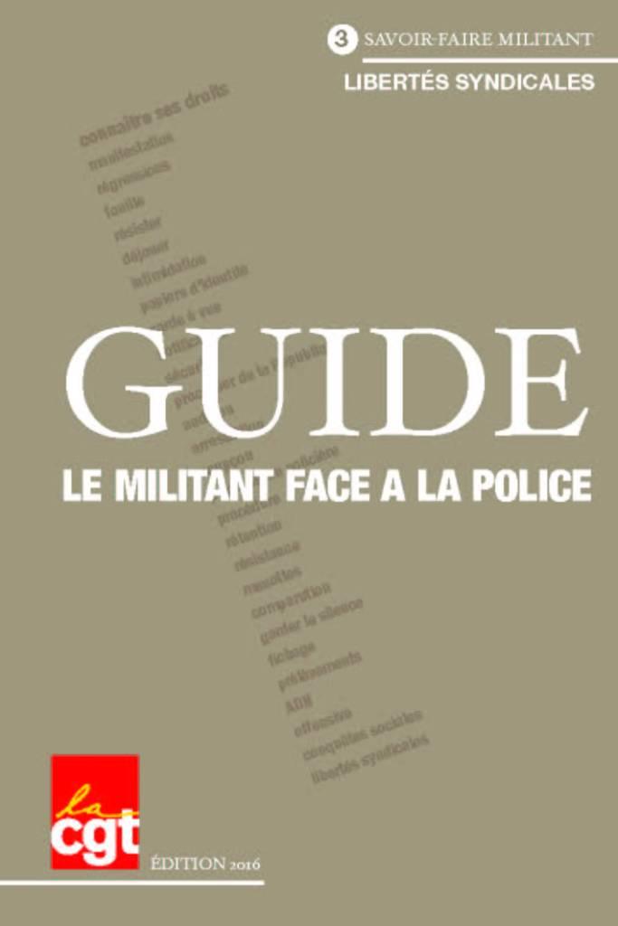 Guide : Le militant face à la Police