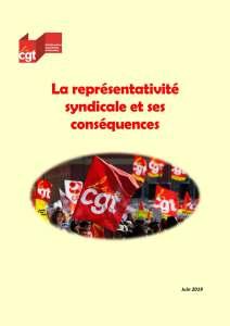La représentativité syndicale et ses conséquences