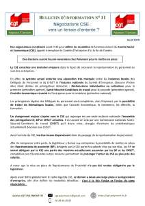 POLYMONT IT SERVICES : Bulletin d'information n°11