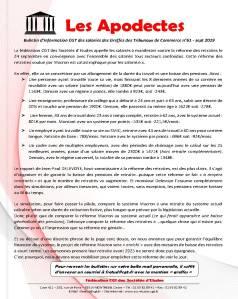 Les Apodectes n°61