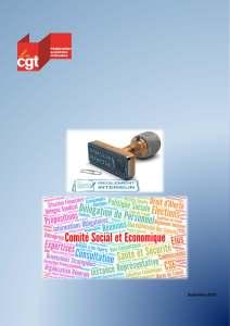 Le règlement intérieur du Comité Social et Economique