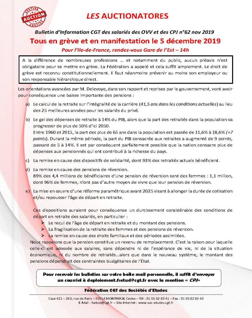 Les Auctionatores n°62