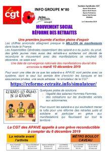APAVE : Info groupe n°80