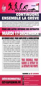 CAPGEMINI : Continuons ensemble la grève – 17 décembre