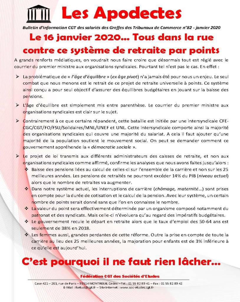 Les Apodectes n°82