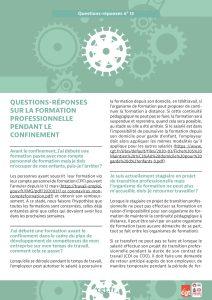 Coronavirus : Questions-réponses n°13