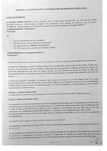 Berger-Levrault : Avenant à l'accord sur les absences / congés payés