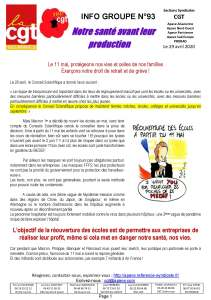 APAVE : Info groupe n°93