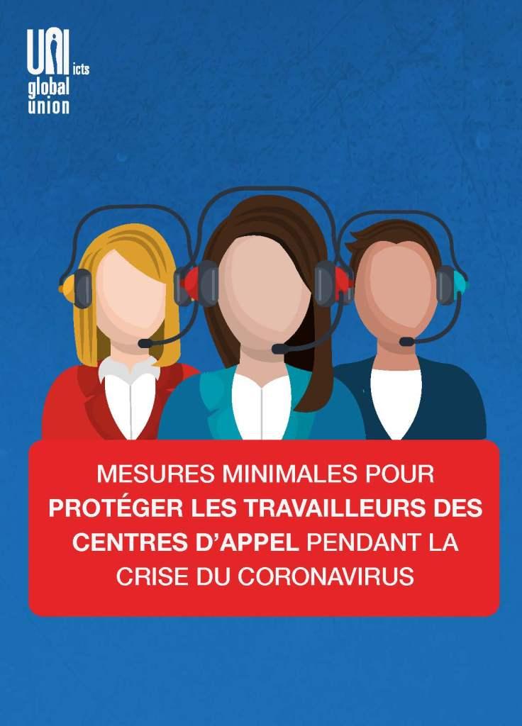 Mesures minimales pour protéger les travailleurs des centres d'appel pendant la crise du coronavirus