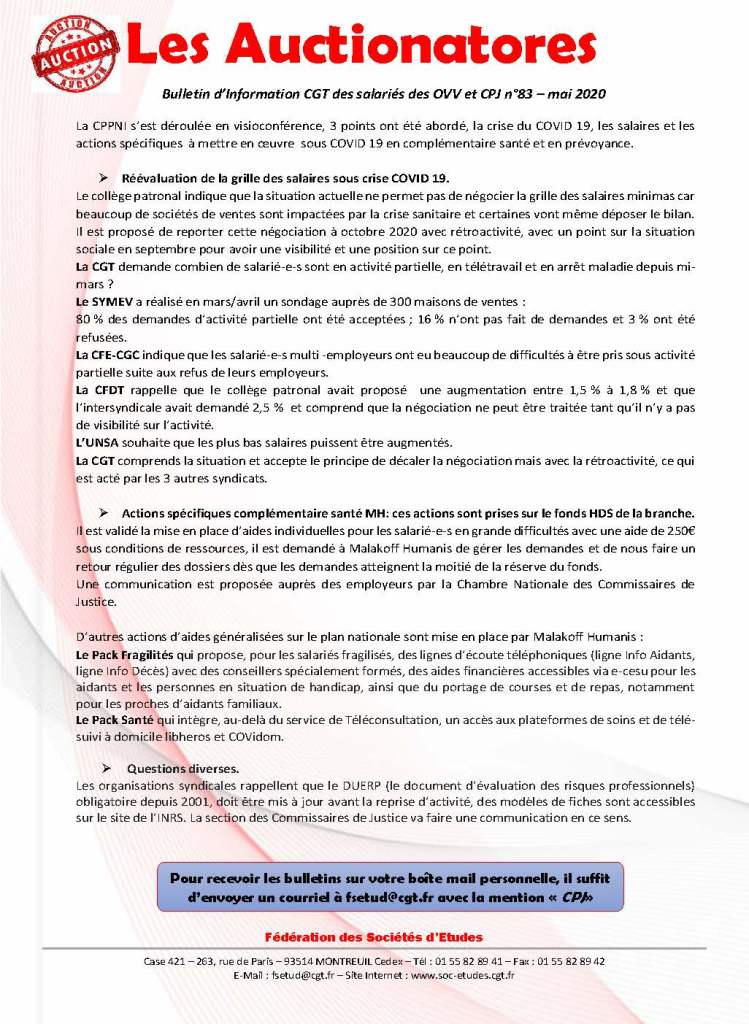 Les Auctionatores n°83