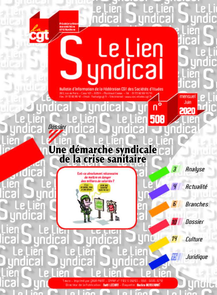 Le lien syndical n°508 – Juin 2020