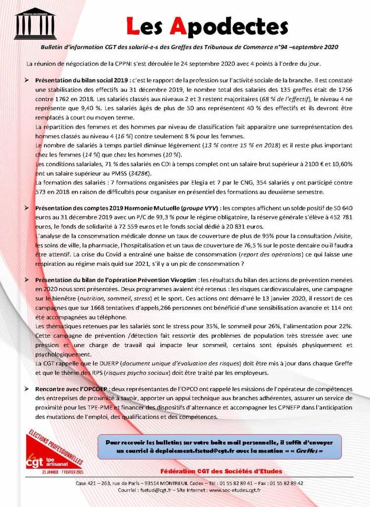 Les Apodectes n°94