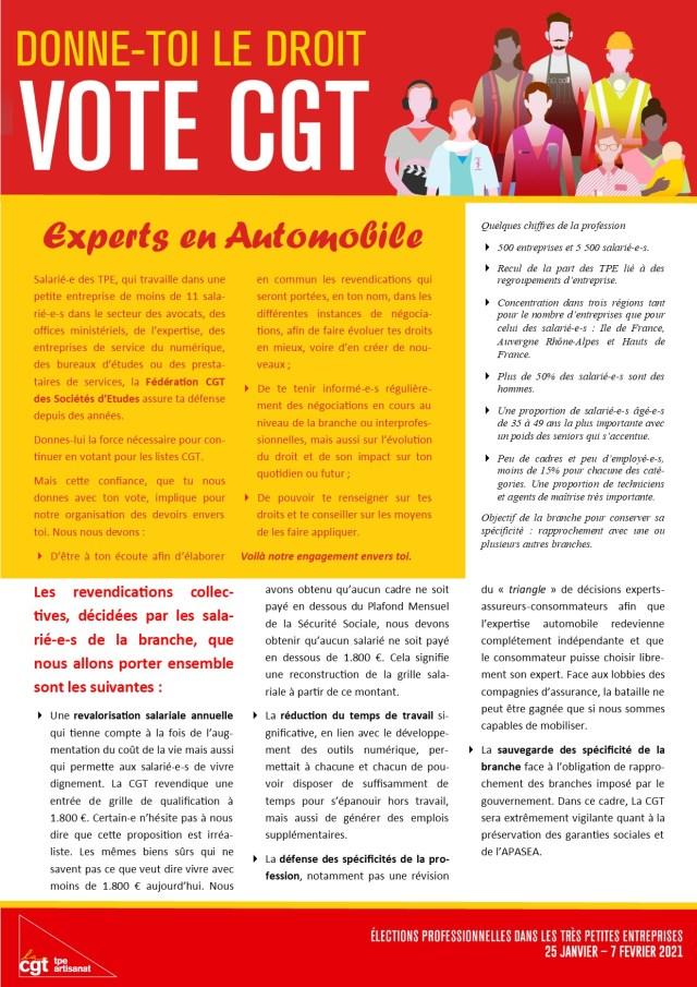 Experts en automobile : Donne-toi le droit